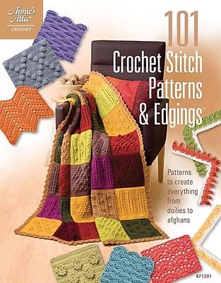 101 Crochet Stitch Patterns & Edgings (Annie's Attic: Crochet)