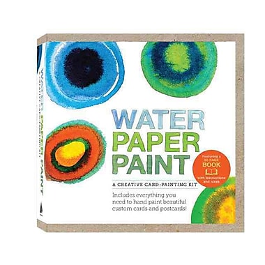 Water Paper Paint: A Creative Card-Painting Kit