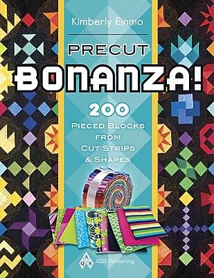 Precut Bonanza! 200 Pieced Blocks from Cut Strips and Shapes