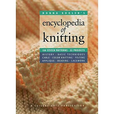 Donna Kooler's Encyclopedia of Knitting (Leisure Arts 15914) (Donna Kooler's Series)