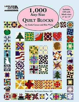 1,000 Any-Size Quilt Blocks (Leisure Arts 5593)