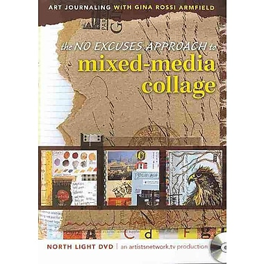 Art Journaling with Gina Rossi Armfield: The No Excuses Approach to Mixed Media Collage