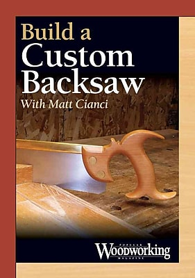 Build a Custom Backsaw