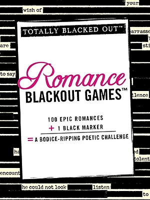 Romance Blackout Games (Totally Blacked Out)