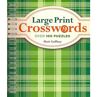 Large Print Crosswords 9