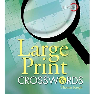 Large Print Crosswords 6
