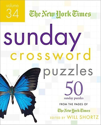 The New York Times Sunday Crossword Puzzles Volume 34: 50 Sunday Puzzles from the Pages of The New York Times