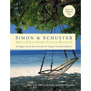 Simon & Schuster Mega Crossword Puzzle Book 5 (Simon & Schuster Mega Crossword Puzzle Books)