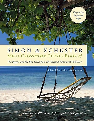 Simon & Schuster Mega Crossword Puzzle Book 5 (Simon & Schuster Mega Crossword Puzzle Books)