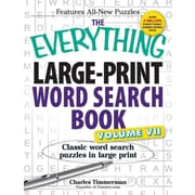 The Everything Large-Print Word Search Book, Volume Vii: Classic word search puzzles in large print