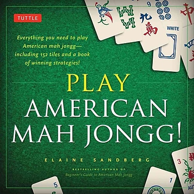Play American Mah Jongg! Kit: A Complete 152 Tile Mah Jongg Set with Detailed instruction Book