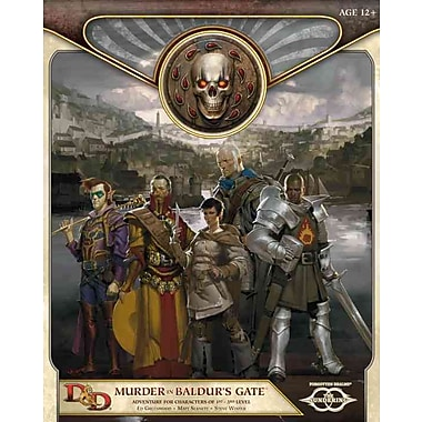 Murder in Baldur's Gate: Sundering Adventure 1 (D&D Adventure)