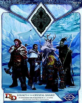 Legacy of the Crystal Shard: Sundering Adventure 2 (D&D Adventure)