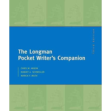 The Longman Pocket Writer's Companion: MLA Update Edition (3rd Edition) (English MLA Updated Books series)