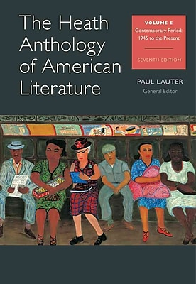 The Heath Anthology of American Literature: Volume E (Health Anthology of American Literature)