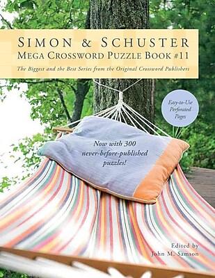 Simon & Schuster Mega Crossword Puzzle Book 11