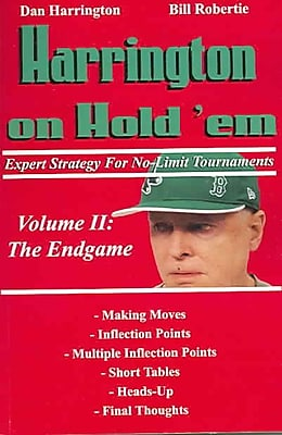 Harrington on Hold 'em Expert Strategy for No Limit Tournaments, Vol. 2