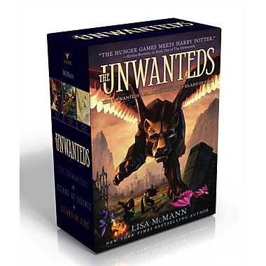 The Unwanteds: The Unwanteds; Island of Silence; Island of Fire