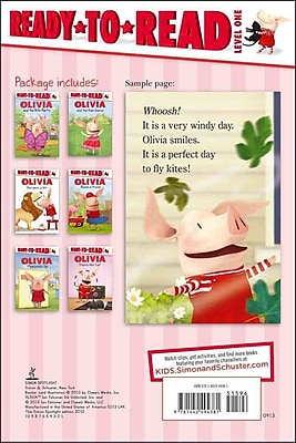Olivia Ready-to-Read Value Pack #2