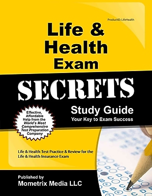 Life & Health Test Review for the Life & Health Insurance Exam (Mometrix Secrets Study Guides),ISBN -10: 1609719883