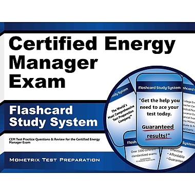 CEM Test Practice Questions & Review for the Certified Energy Manager Exam (Cards),ISBN -10: 1609716787