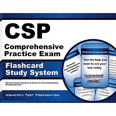 CSP Test Practice Questions & Review for the Certified Safety Professional Exam,ISBN -10: 1609715829