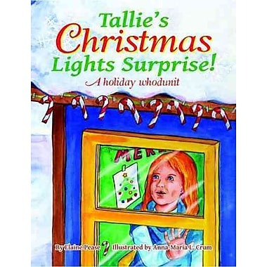 Tallie's Christmas Lights Surprise!