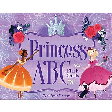 Princess ABC Flash Cards