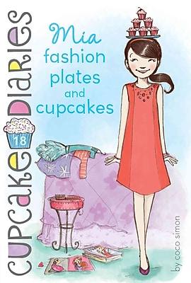 Mia Fashion Plates and Cupcakes (Cupcake Diaries)