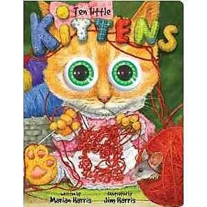 Ten Little Kittens Board Book: An Eyeball Animation Book