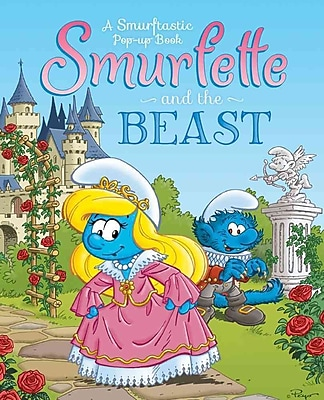 Smurfette and the Beast: A Smurftastic Pop-up Book (Smurfs Classic)