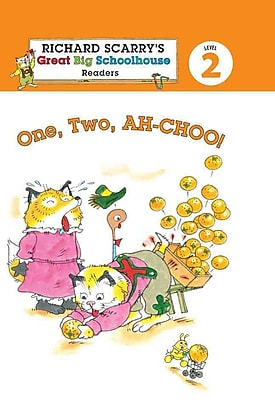 Richard Scarry's Readers (Level 2): One, Two, AH-CHOO! (Richard Scarry's Great Big Schoolhouse)
