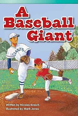 A Baseball Giant (library bound) (Read! Explore! Imagine! Fiction Readers)