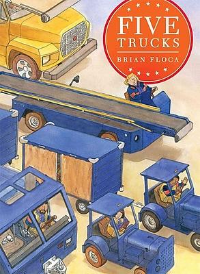 Five Trucks (Richard Jackson Books (Atheneum Hardcover))