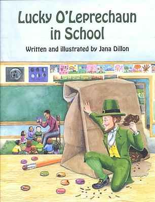 Lucky O'Leprechaun in School (Lucky O'Leprechaun Series)