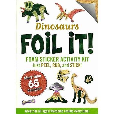 Dinosaurs Foil It! (foam sticker activity kit)