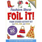 Fashion Show Foil It! (foam sticker activity kit)