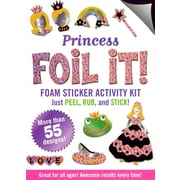 Princess Foil It! (foam sticker activity kit)