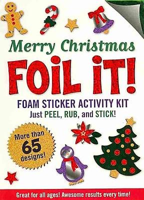 Merry Christmas Foil It! (foam sticker activity kit)