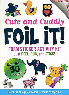 Cute & Cuddly Foil It!(foam sticker activity kit) 1221945