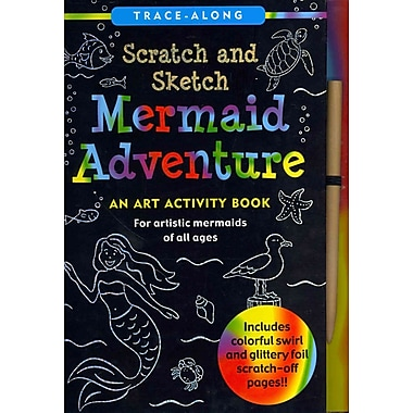 Mermaid Adventure Scratch and Sketch: An Art Activity Book for Artistic Mermaids of All Ages (Art, Activity Kit)