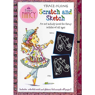 Fancy Nancy Scratch and Sketch: An Art Activity Book for Fancy Artistes of All Ages (Art, Activity Kit)