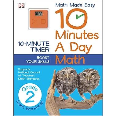 10 Minutes a Day: Math, Second Grade