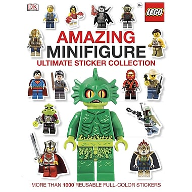 Ultimate Sticker Collection: Amazing LEGO Minifigure (ULTIMATE STICKER COLLECTIONS)
