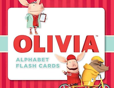 Olivia Alphabet Flash Cards
