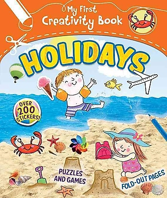 Vacation: Creative Play, Fold-out Pages, Puzzles and Games, Over 200 Stickers! (My First Creativity Book)