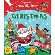 Christmas: With 200 Stickers, Puzzles and Games, Fold-Out Pages, and Creative Play (My First Creativity Books)