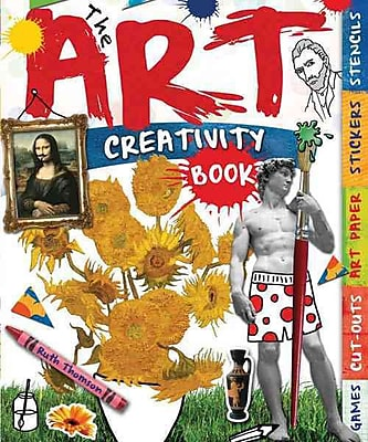The Art Creativity Book: With Games, Cut-Outs, Art Paper, Stickers, and Stencils (Creativity Activity Books)