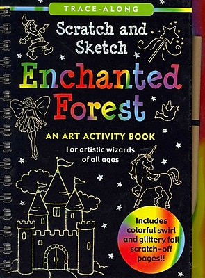 Enchanted Forest Scratch and Sketch (An Art Activity Book for Artistic Wizards of All Ages)