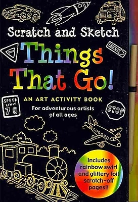 Scratch and Sketch Things That Go!